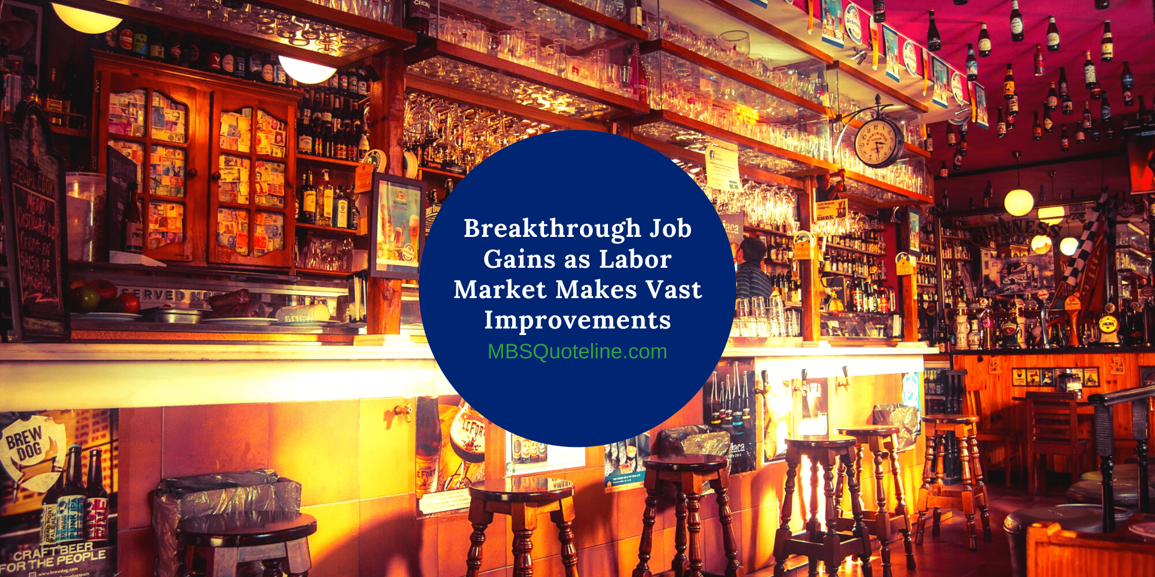 Breakthrough Job Gains as Labor Market Makes Vast Improvements mortgagetime mbsquoteline featured